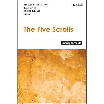 Five Scrolls by Dominic Mattos