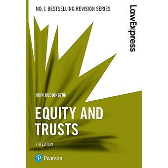 Law Express Equity and Trusts by John Duddington