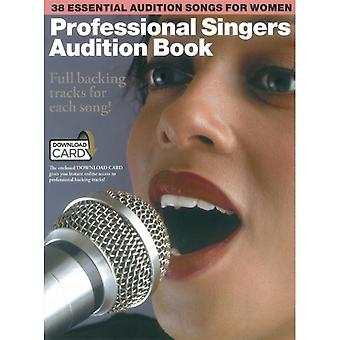 Professional Singers Audition Book BookDownload Card