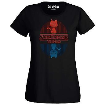 Vrouwen ' s Schrodinger dingen t-shirt