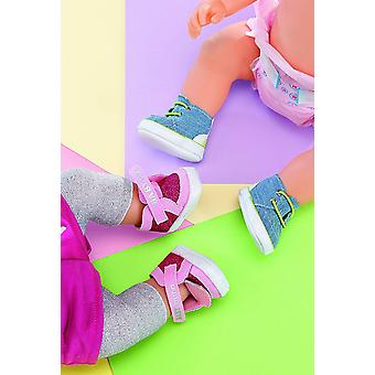 Baby Born Jeans Sneakers (Styles Vary, One Pair Fornecido)