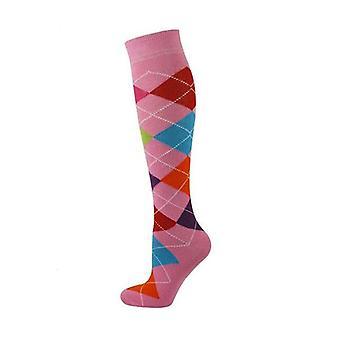 Kids Knee High Argyle Socks