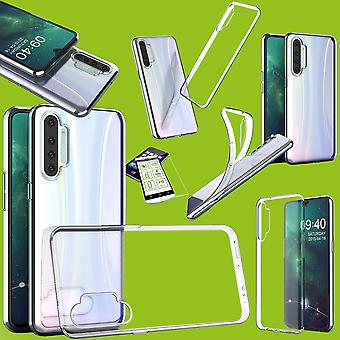 Silicone Case Ultra Thin Case Phone Case Transparent + Tempered Glass 0.26mm H9 for Oppo Realme X2