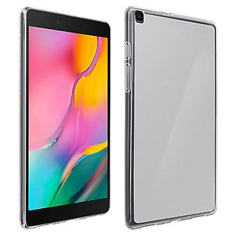 Galaxy tab A 8,0 2019 transparante silicone gel Case-Frosted wit