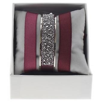 Boksen udskiftelige A48564 - ring bånd 12 mm Palladium ornamenter Medley / krystal kvinde