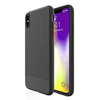 Para o caso do iPhone XS MAX, preto snap armor shock à prova de cobertura de telefone protetor slim