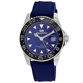 Seapro Men's Reloj de marcación azul - SP0125