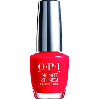 OPI Infinite Shine Nagellak - Unrepentantly Rood