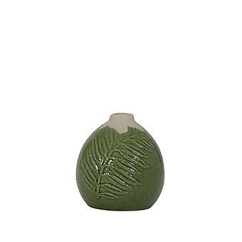 Lys & Levende Vase Deco 13x13cm Polos Lys Grønn