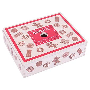 Bigjigs Hračky Dřevěné Sušenky Box & Různé dřevěné sušenky