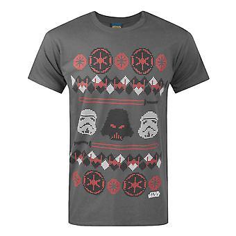 スター・ウォーズ ダース・ベイダー・フェア・アイル・クリスマス・メン&アポス;s Tシャツ