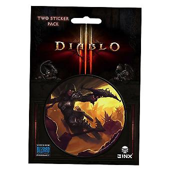 Diablo III Demon Hunter Class Sticker