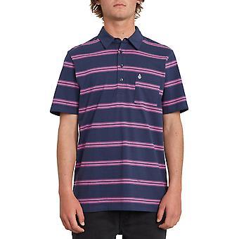 فولكوم سميثرز بولو قميص باللون الأسود الأزرق