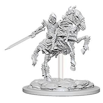Pathfinder Battles Deep Cuts Unpainted Miniatures Skeleton Knight on Horse 6Pks (en anglais)