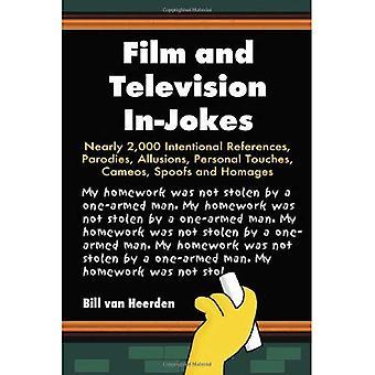 Film i telewizja In-jokes: prawie 2 000 międzynarodowe referencje, parodie, aluzje, dotyka osobistych, scen, fałszuje i hołdy