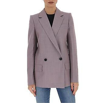 Givenchy Bw309r12fy542 Women's Lilac Cotton Blazer