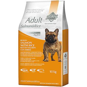 Dibaq Dogs Dnm Adult Salmon & Rice (Honden , Voeding , Droogvoer)