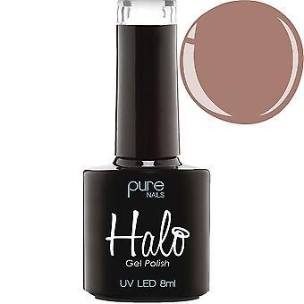 Halo Gel Nails LED/UV Halo Gel Polish Collection - Mocha 8ml (N2831)