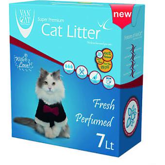 Van Cat Arena para Gatos Aroma Primavera (Gatos , Peluquería e higiene , WC Arenas)
