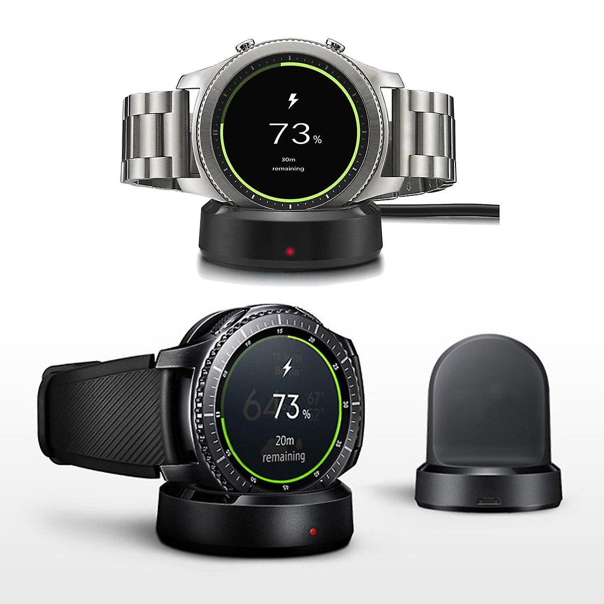 Qi wireless charging dock cradle charger for samsung gear s3 classic / frontier series 3