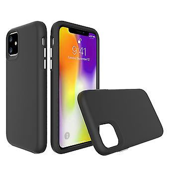 For iPhone 11 Case, Shockproof Protective Strong Cover Black