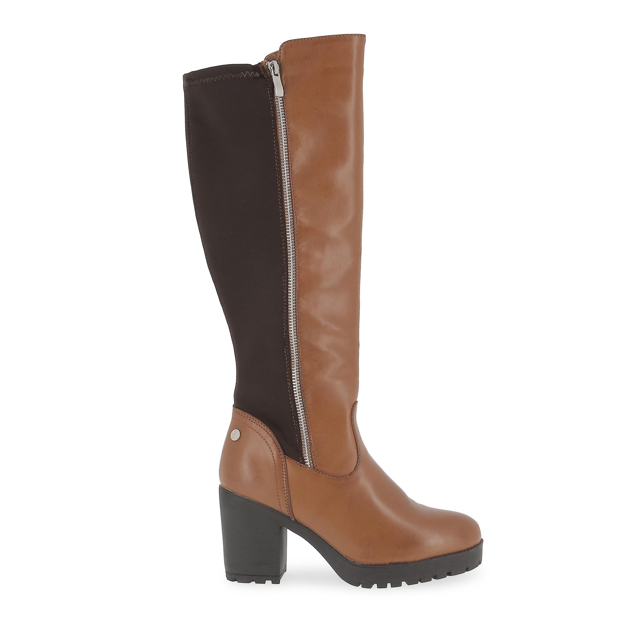 Xti Original Women Fall/Winter Boot Brown Color - 57815 9m6EA