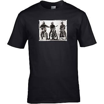 Steve Mcqueen MX - Motorcycle Motorbike Biker - DTG Printed T-Shirt