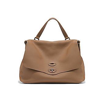 Zanellato 6801p6c3 Women's Brown Leather Handbag