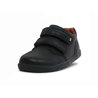 Bobux i-walk port black school shoes