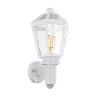 Eglo Monselice - 1 Light Outdoor Wall Lanterna con PIR Motion - Dawn / Dusk Sensor Ip44 - EG97256