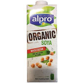Alpro Organic Soya Milk Alternative Cartons