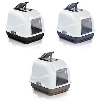 Imac Easy Cat Deluxe Hooded Cat Toilet