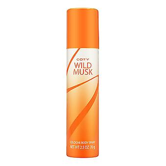 Coty wild musk by coty for women 2.5 oz cologne body spray