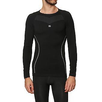 Men's Thermal T-shirt Sport Hg Hg-8030 Black