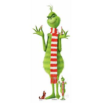 The Grinch Lifesize Cardboard Cutout / Standee / Standup / Standee