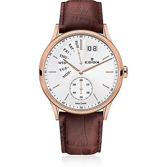 Edox - Wristwatch - Men - Les Vauberts - Date Retrograde - 34500 37R AIR
