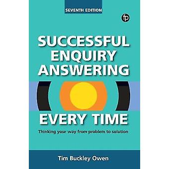 Successful Enquiry Answering Every Time - Thinking your way from probl