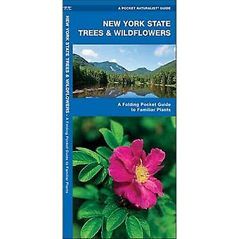 New York State Trees & Wildflowers - A Folding Pocket Guide to Familia