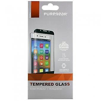 LG V30 PUREGEAR スクリーン プロテクターなしインストール トレイ - HD の鮮明さは強化ガラス