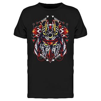 Mecha Head Robot Geometric Tee Men's -Kuva Shutterstockilta