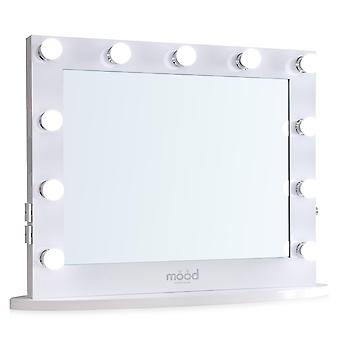 Hollywood Mirror 65 x 80cm with Bluetooth Speakers Dressing Table or Wall Mounted Vanity