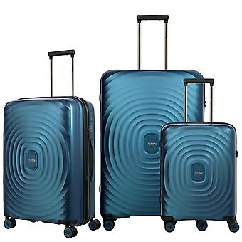 TITAN Looping Case Set 3 piezas S-M-L, Azul