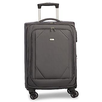 Fabrizio Mode Hand Luggage Trolley S, 4 Roues, 56 cm, 31 L, Gris