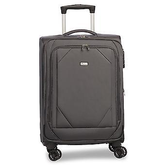 Fabrizio Mode Handbagage Trolley S, 4 Wielen, 56 cm, 31 L, Grijs