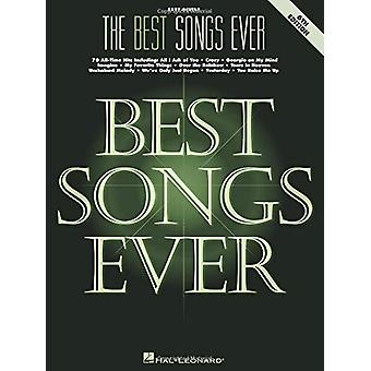 THE BEST SONGS EVER 6TH EDITION EASY GUITAR BOOK by Hal Leonard Publi