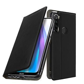 A Xiaomi Redmi Note 8 / Note 8T tokja kártyatartóval szilikon állvány fekete