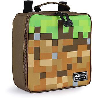 Minecraft Grass Block Kids Lunch Box