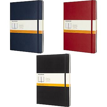 Moleskine Classic XL Hard Cover Ruled Notebook