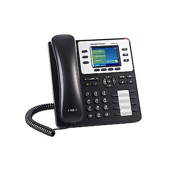 Grandstream Gxp2130 Hd Poe Ip Phone 320 X 240 ملونة Lcd 3 خطوط