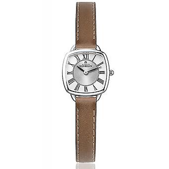 Michel Herbelin 17499-08GO Women's Equinoxe Brown Strap Wristwatch